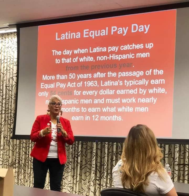 Latina Equal Pay Day